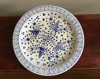 Vintage italian Plate