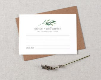 Advice For The Bride & Groom Cards, Wedding Advice Cards, Advice Card Template, Printable Advice Cards, Wedding Advice Template - KPC02_401