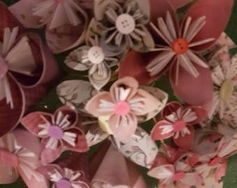 Shabby Chic Handmade Paper Flowers - Inspiring Vintage Collection