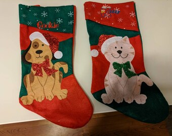 Personalized Christmas Stockings for the entire family