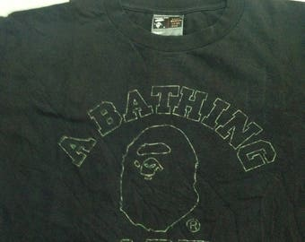 Authentic bape street wear tshirt