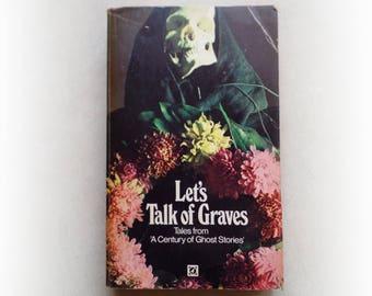 Various - Let's Talk of Graves - Bram Stoker Edgar Allen Poe horror short stories vintage paperback book - 1970
