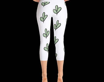 Try leaves Capri Legging