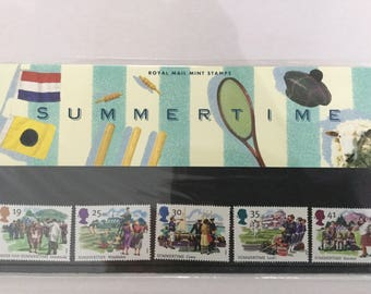 Summertime Royal Mail Mint Stamps Presentation Pack 1994