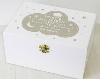 Keepsake Box,Special Occasion,Baptism,Christening,Newborn Gift,Baby Girl,Baby Boy,Keepsakes,Personalised Gift,Birthday,Christmas