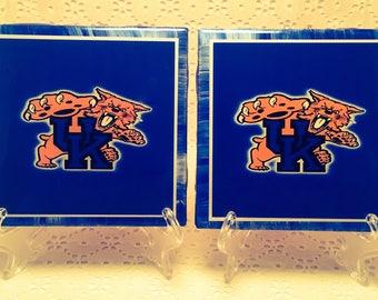 2 Piece Coaster Set/ UK/ Wildcats