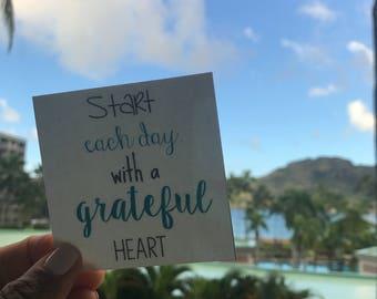 Keepsake Kard: Grateful