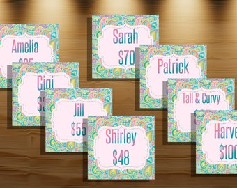 Facebook Album Covers+ New Style || Approved Fonts and Colors || 5x5 inches || 50 items, Style & Price || Instant Download