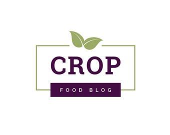 Food Blogger Logo - Premade Logo - Blogger Logo - Food Logo - Professional Logo - Small Business Logo - Minimal Logo - Restaurant Logo