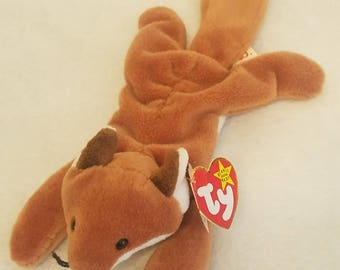 Ty Beanie Baby 1996 SLY The Fox EXCELLENT CONDITION