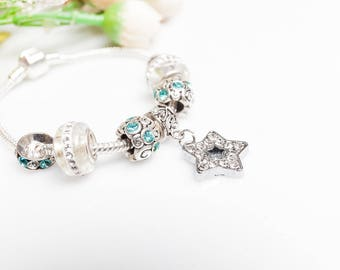FREE SHIPPING --->>> Pandora Style Bracelet Pandora Bracelet Pandora charms Pandora jewelry