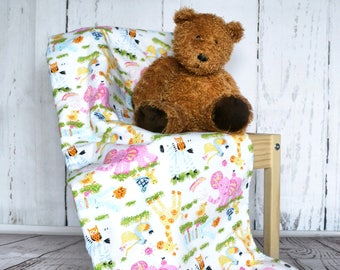 Baby Quilt, Pram Quilt, Stroller Quilt, Cot Quilt, Children's Quilt, Fleece Quilt, Car Seat Quilt, handmade Quilt