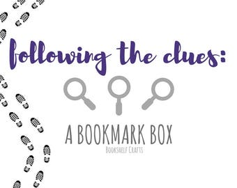 Following the Clues: A Bookmark Box