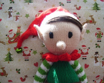 Santas little helper - boy elf