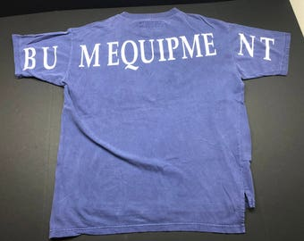 Vintage 90s BUM equipment t-shirt mens XL