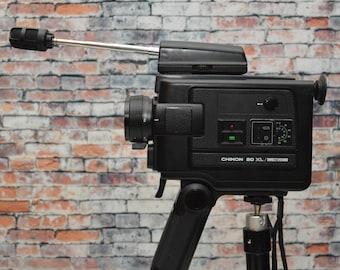 Vintage Chinon 20 XL Direct Sound Super 8 film Movie Camera - 8mm Video Camera