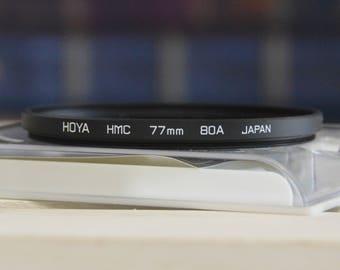 HOYA HMC 77mm 80A Multi-coated filter for camera lens