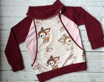 Oh Deer Cowl Pullover