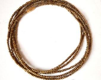 Brass - Waist Beads - Belly Chain - Belly Beads - African Waist Beads