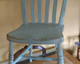 Painted Pine Kitchen Chair