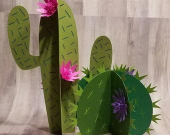 Tacos and tequila cactus centerpiece cactus centerpiece bachelorette party decor 21st party decor bridal shower decor