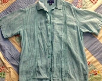 Short Sleeve Button-down