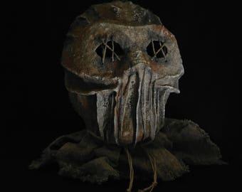 Mask Scarecrow, horror, halloween, masquerade