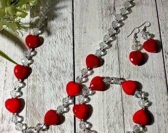 VALENTINE'S Jewelry Set