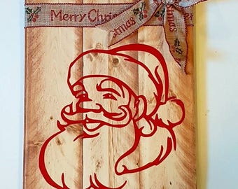 Santa Seasonal Christmas Winter Home Decor