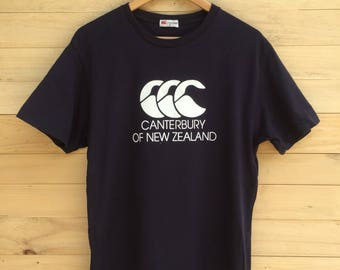 Rare!! Vintage Canterbury Of New Zealand T Shirt Size Medium