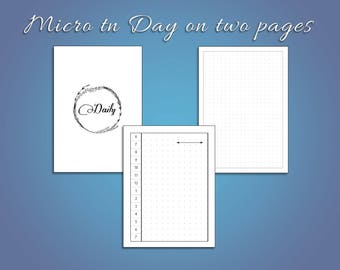 Micro Day on Two Page TN