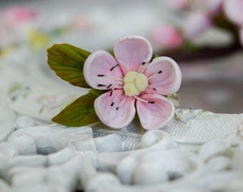 Sakura, sakura ring, sakura jewelry, blossom ring, sakura necklace,sakura pendant, cherry blossom, flower ring, sakura wedding, sakura clay