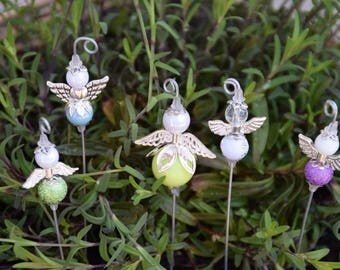 5 x guardian angel flower plugs, Angels, Garden decoration #6