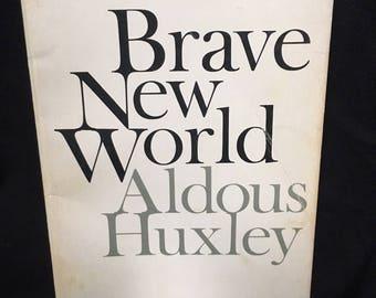 Brave New World by Aldous Huxley - 1969 paperback