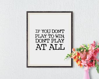Printable Art, Inspirational Quote, Office Art Decor, Wall Art, Motivational Poster, Wall Decor, Wall Art Prints, Instant Download