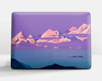 "Laptop skin (Custom size). Nicholas Roerich, ""Himalayas"". Laptop cover, HP, Lenovo, Dell, Sony, Asus, Samsung etc."