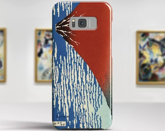 "Katsushika Hokusai, ""South Wind, Clear Sky"". Samsung Galaxy S8 Case LG V30 case Google Pixel Case Galaxy J7 2017 Case and more."