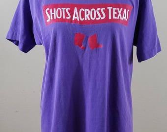 Vintage T Shirt - Texas tshirt - size Medium #239