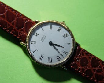 Vintage 80's LANCEL mechanical watch