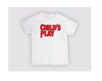 Childs Play Chucky Kids Children T Shirt Many Sizes Colors Custom Horror Halloween Merch Massacre