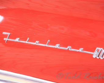 Ford Fairlane 500 Tail