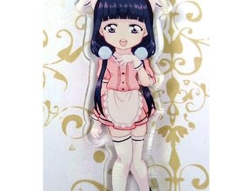 Acrylic Anime Blend S Maika Sweet Smile Sadistic Charm Keychain