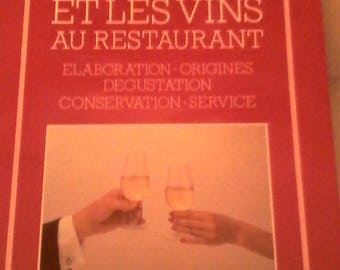 """Wine and wine at the restaurant"" book"