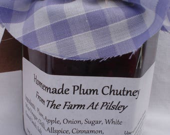 Homemade Plum Chutney