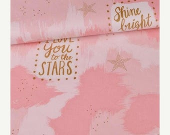 GRAND OPENING Pink You are Magic Cotton by Sarah Jane - Michael Miller Fabrics