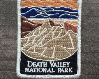 Death Valley National Park Souvenir Patch Traveler Series Iron-on California