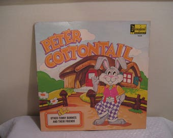 PETER COTTONTAIL from disneyland, an lp (record)