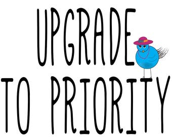 Upgrade To Priority And Receive Your Item In 2-3 Business Days