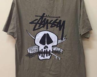 Vintage T shirt Stussy Fresh Foils Silas Thrasher Vans Supreme