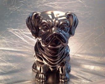 Ceramic pot pourri dog